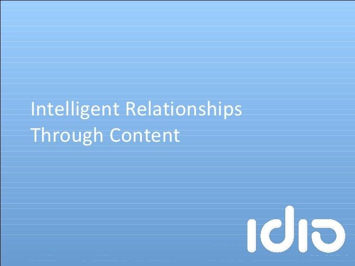 Intelligent Relationships Through Content