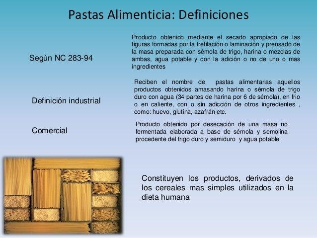 propiedades nutricionales de la pasta de trigo