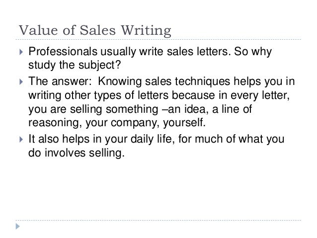 Indirectness in persuasion and sales writing – Persuasive Sales Letter