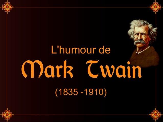 L'humour de (1835 -1910)