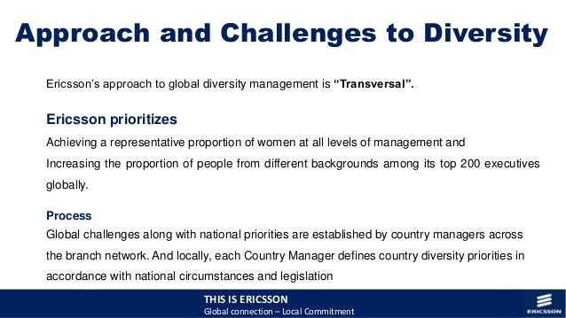 Global diversity the answer to globalization