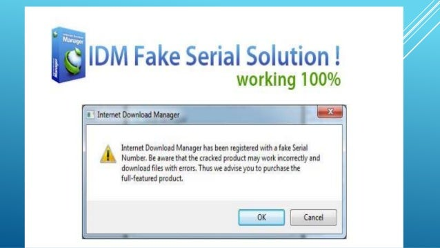 fake serial number for internet download manager