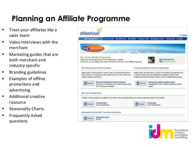 affiliate marketing examples