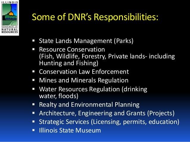Idnr presentation on opportunities for evanston partnership for Illinois dnr fishing license