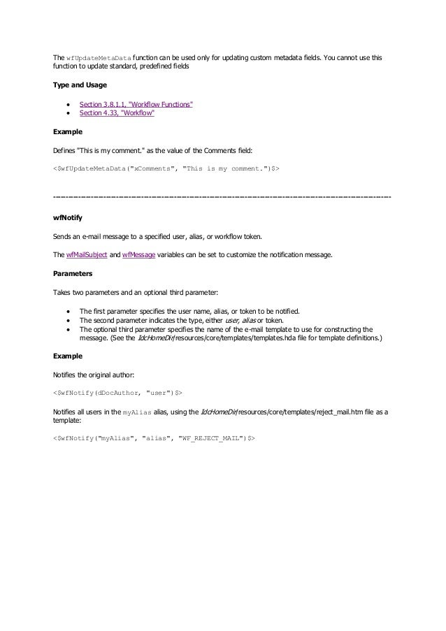 Idoc script beginner guide