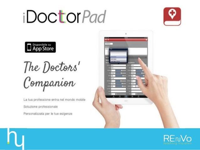 • Parte 1: Presentazione famiglia soluzioni iDoctorPad • Parte 2: Struttura dell'offerta e listino commerciale iDoctorPad ...