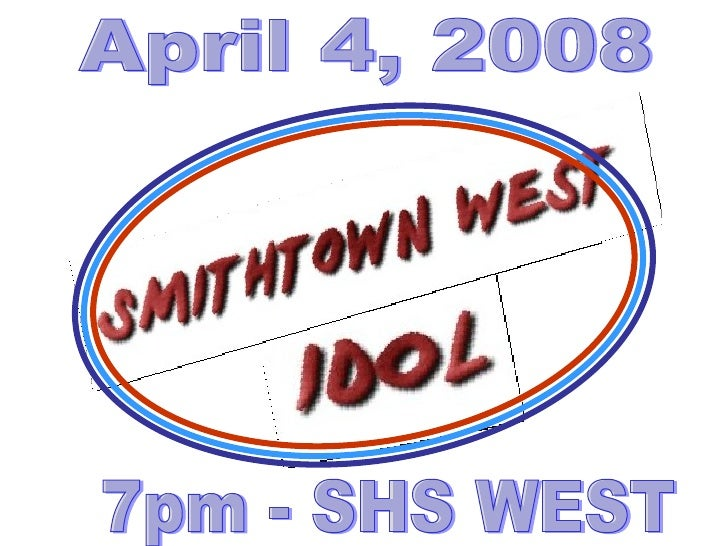 April 4, 2008 7pm - SHS WEST