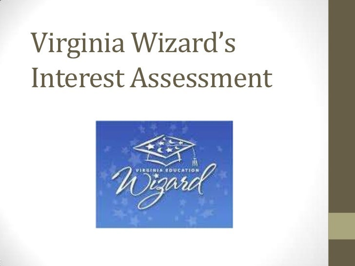 Virginia Wizard'sInterest Assessment