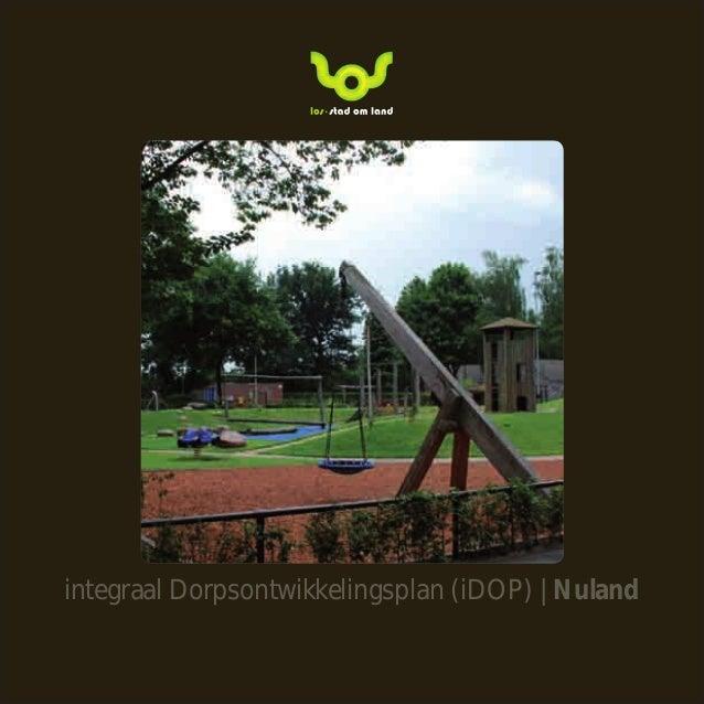 integraal Dorpsontwikkelingsplan (iDOP) | Nuland