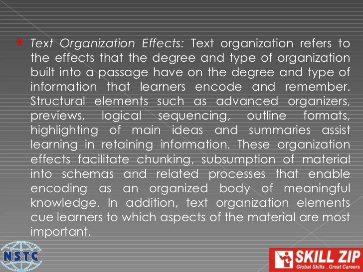    Mathemagenic Effects: Mathemagenic effects,    coined by Rothkopf (1970) , refer to various things that    learners do...