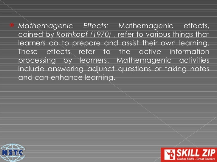 SOURCES:   Educational Psychology A Realistic Approach: Good,    T.E. and Brophy, J.E. Third edition. Longman Publishing,...