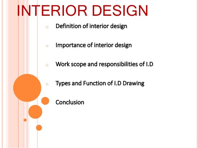 Interior Designer Profession Presentation