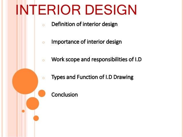 ... 2. O Definition Of Interior Design ...