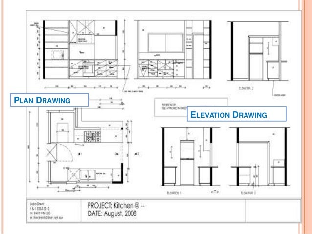 Interior Design Sketches Kitchen interior design elevation drawings