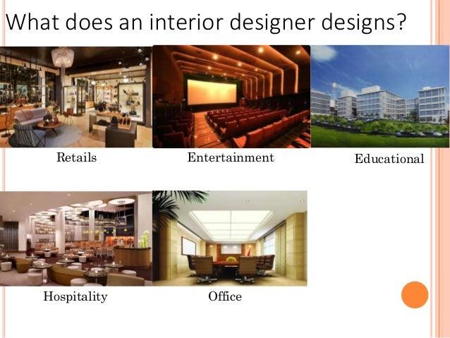 Interior designer profession presentation for Interior design profession