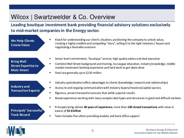 Divestment Firms