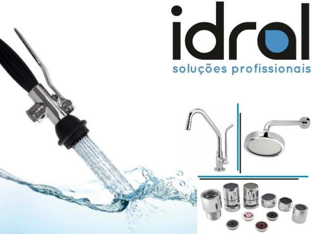 A Idral é uma empresa que tem o compromisso de oferecer soluções profissionais para o uso Sustentável da Água.  Contando c...