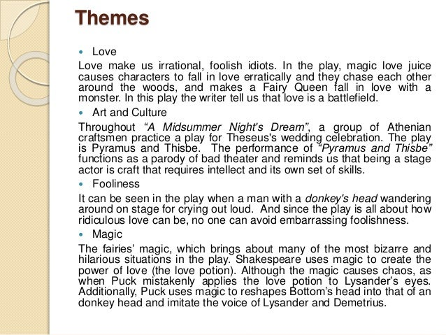 character analysis of hermia in a midsummer nights dream by william shakespeare Act 4 - let studymodecom get you up to speed on key information and facts on a midsummer night's dream by william shakespeare.