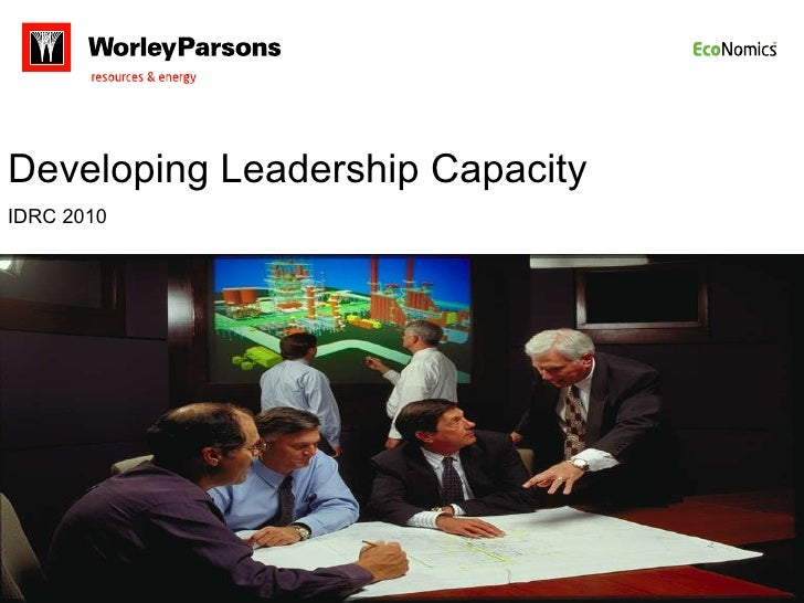 Developing Leadership Capacity IDRC 2010