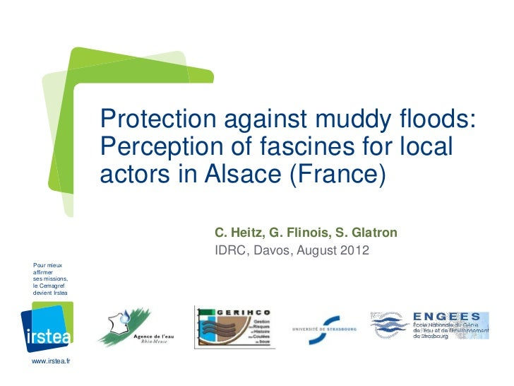 Protection against muddy floods:                 Perception of fascines for local                 actors in Alsace (France...