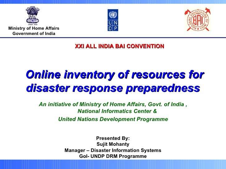 Ministry of Home Affairs Government of India An initiative of Ministry of Home Affairs, Govt. of India , National Informat...