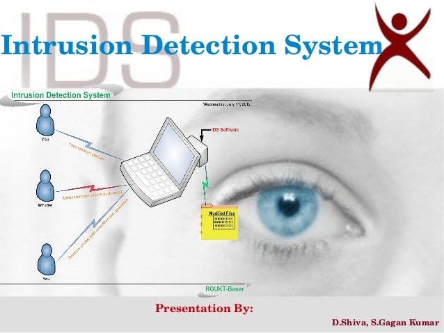Intrusion Detection System Presentation By: D.Shiva, S.Gagan Kumar