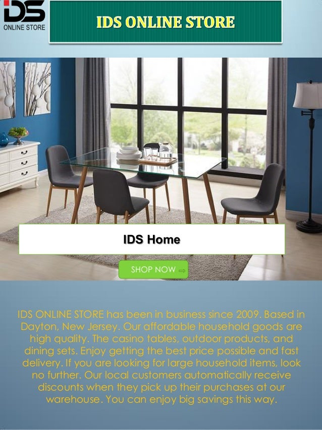 Incroyable IDS ONLINE STORE Has Been In Business Since 2009. Based In Dayton, New  Jersey ...