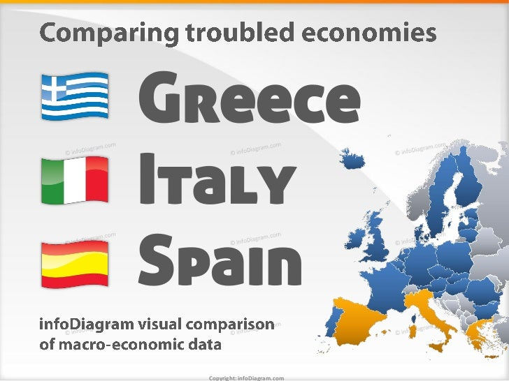 comparison italy vs spain in crisis The two countries selected for the comparison, italy and greece, have been  chosen for  of italy and greece (like those of france and spain) were typical  credit-based  relativelylimited,ascomparedwith other main.