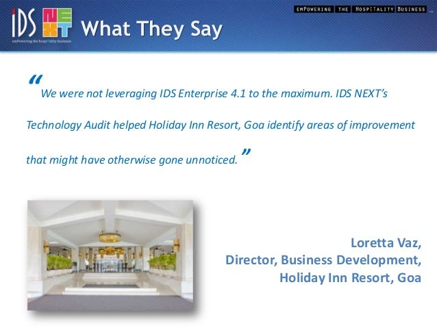 case study holiday hotel limited Financial performance: a case study of holiday inn singapore orchard city   interest and reserves for replacements (intercontinental hotels group, 2009.