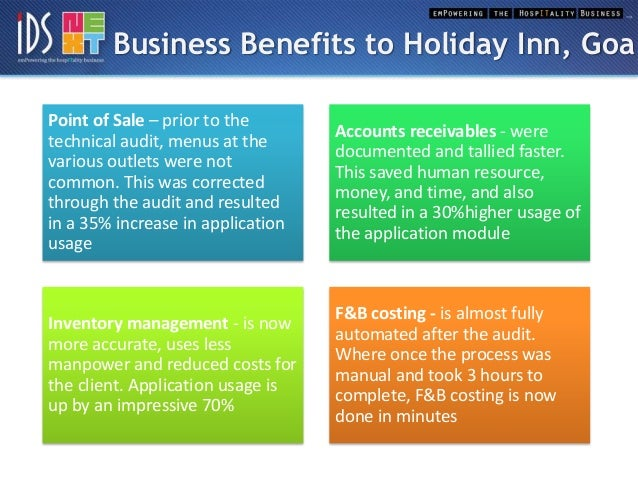 holiday inn analysis Holiday inn - using marketing to improve the competitiveness of an organisation 2423 words | 10 pages marketing to improve competitiveness of holiday inn contents page 3) introduction 3) how holiday inn became prominent 4) what makes holiday inn stand out 5) holiday inn's creative ways on getting their customers 6) observing and measuring the segment market 7) pest analysis – political.