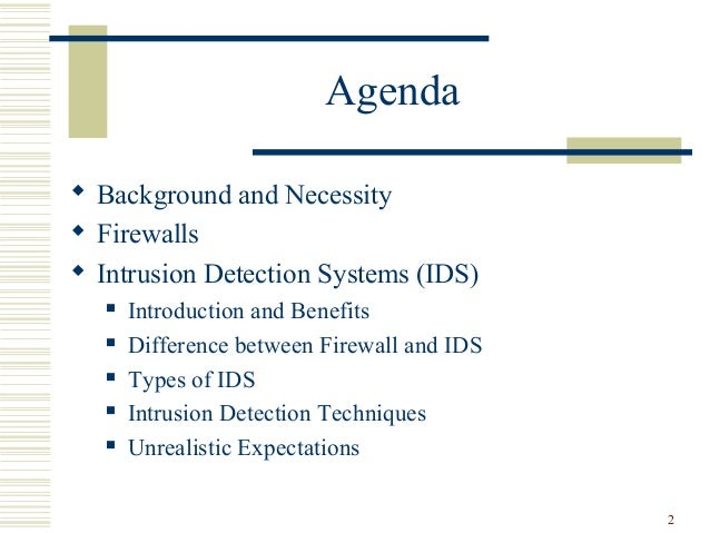 The Disadvantages of Intrusion Detection Systems