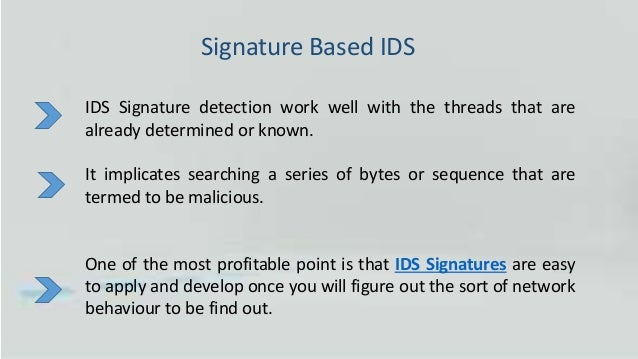 Five Major Types Of Intrusion Detection System Ids