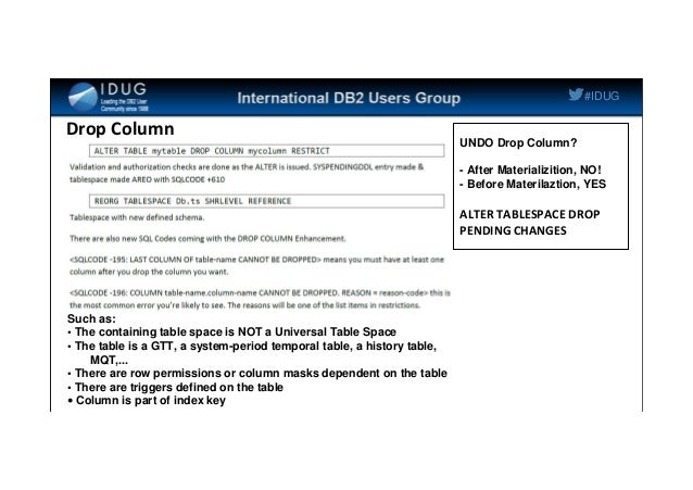 IDUG NA 2014 / 11 tips for DB2 11 for z/OS