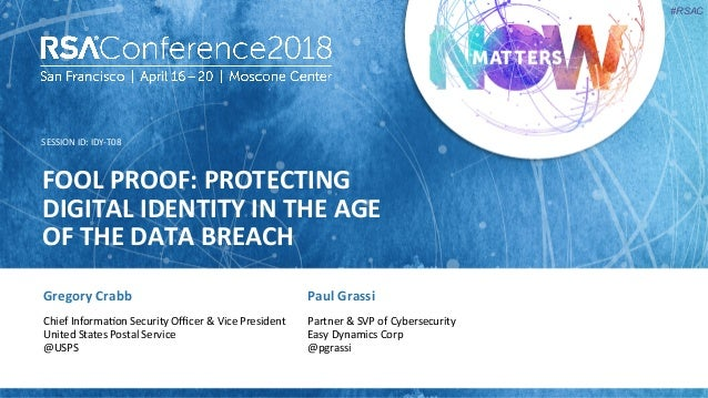 Fool Proof: Protecting Digital Identity in the Age of the