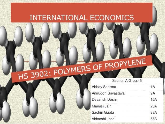 INTERNATIONAL ECONOMICS Section A Group 5 Abhay Sharma 1A Aniruddh Srivastava 9A Devansh Doshi 16A Manasi Jain 23A Sachin ...