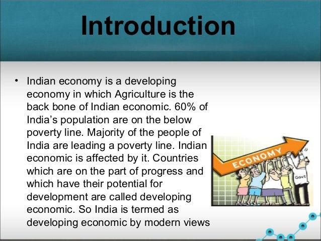 development of indian economics
