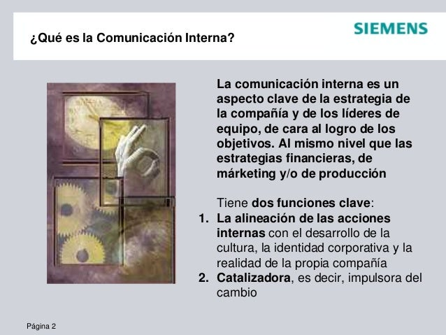 Experiencias en Comunicación Interna Slide 2