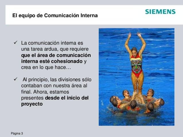 Experiencias en Comunicación Interna Slide 3