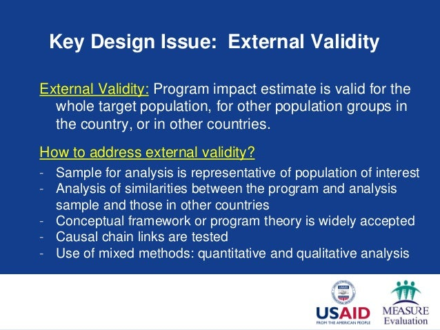 Key Issues In Impact Evaluation A Meet And Gemnet Health Virtual Eve