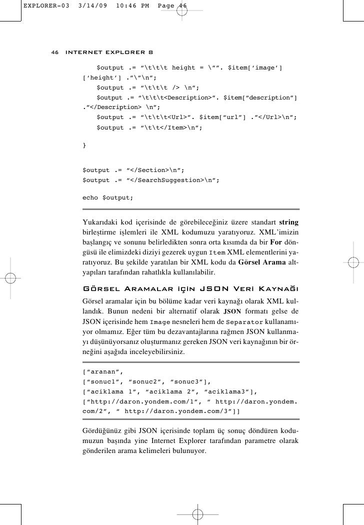 "46 INTERNET EXPLORER 8            $output .= ""ttt height = """". $item['image']       ['height'] .""""n"";           $output .=..."