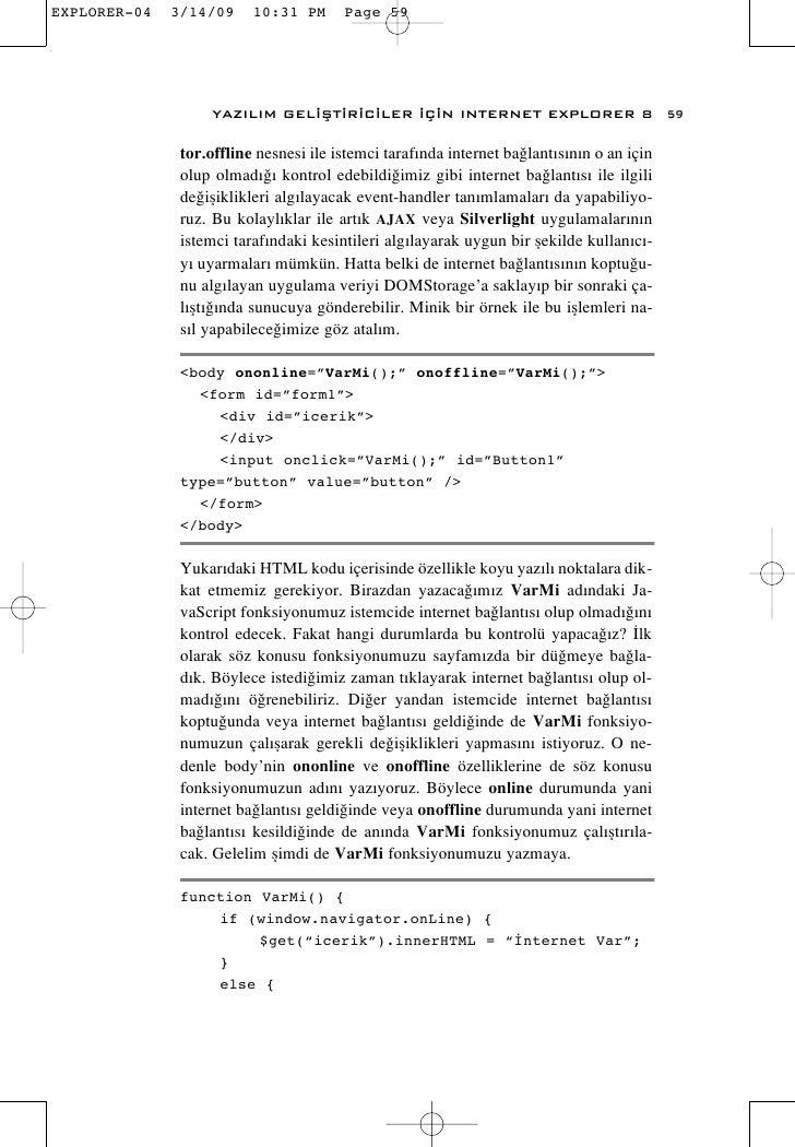 Daron Yöndem - ie8 Ebook Tr
