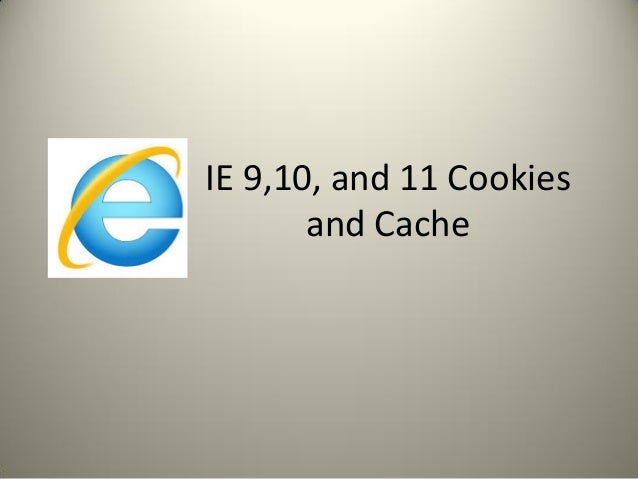 how to clear cookies in ie 10