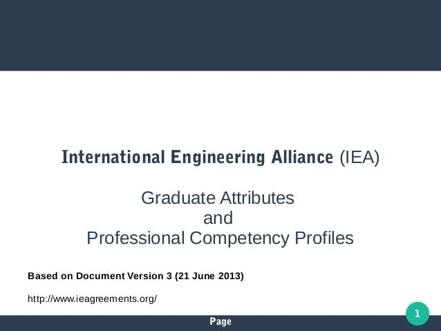 Page 1 Based on Document Version 3 (21 June 2013) http://www.ieagreements.org/ International Engineering Alliance (IEA) Gr...