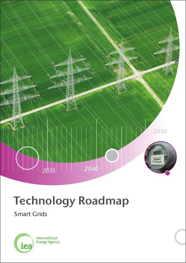 2050                       2045         2035   2040Technology RoadmapSmart Grids