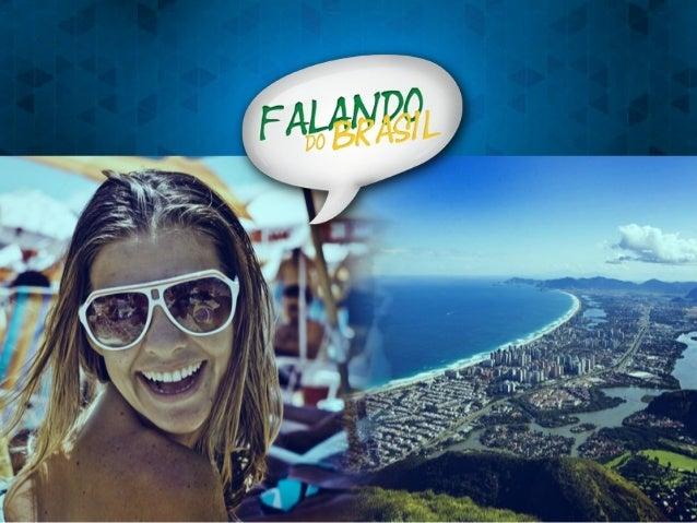 Apresentação Comercial - Falando do Brasil