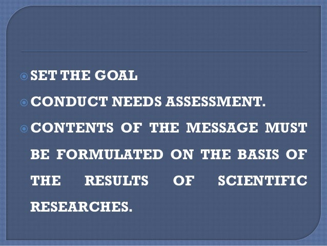  ESTABLISH BEHAVIOURAL OBJECTIVES THAT WILL CONTRIBUTE TO ACHIEVING THE GOAL.  IDENTIFY POTENTIAL BARRIERS ANDWAYS OF OV...