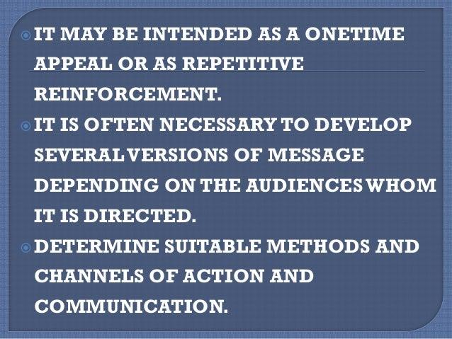 PRINCIPLES FOR MATERIAL DISTRIBUTION
