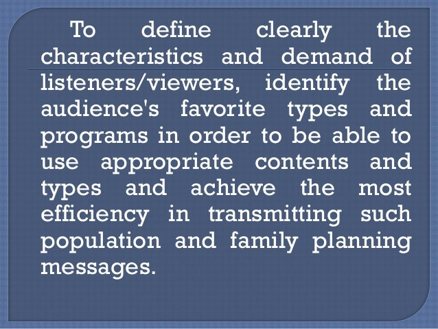 To raise the quality and quantity of the pages reserved for the population/FP related topics and themes, particularly its...