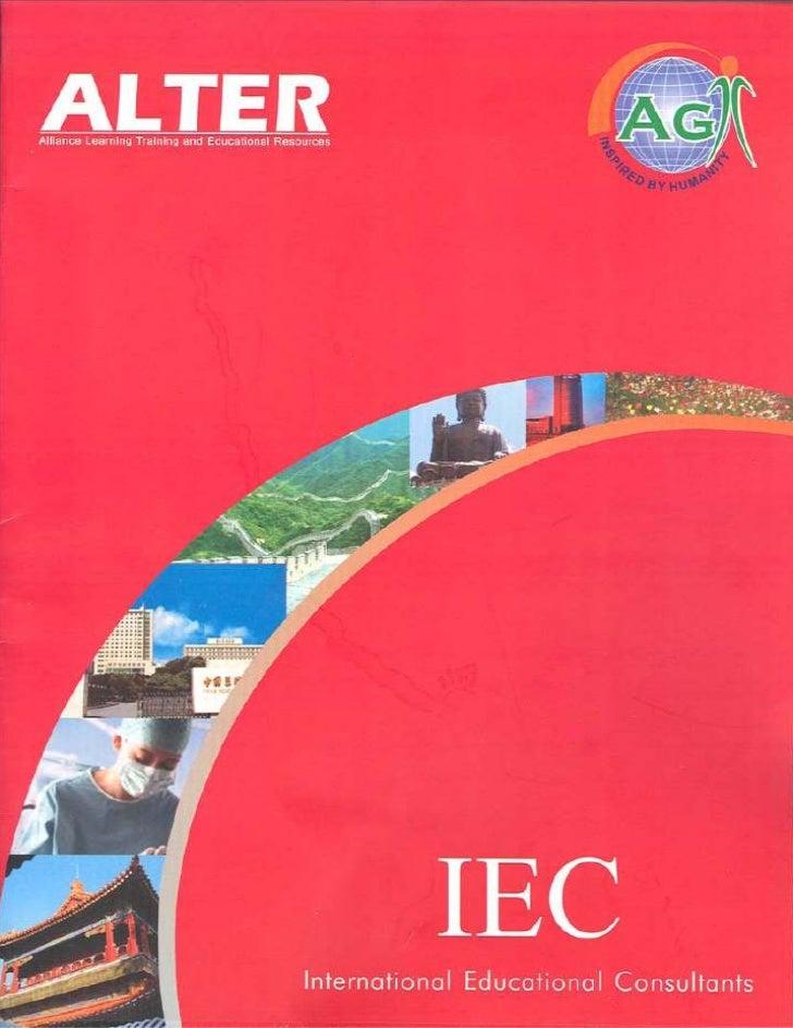 China- Main Brochure. Soft copy
