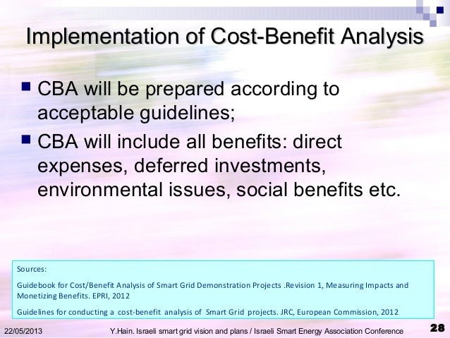 guidebook for cost benefit analysis of smart grid demonstration projects